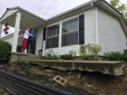 Landslide forces couple out of their dream house