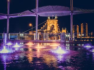 Cincygram: Smale Park after dark