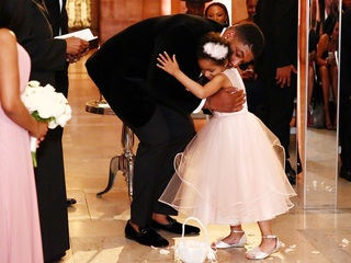 Devon, Asha and Leah Still's 'dream wedding'