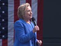 Clinton calls Trump 'loose cannon' at NKY rally