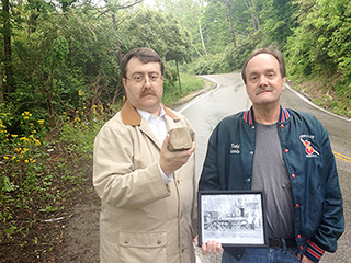 1850s locomotive may lay buried under Roll Hill