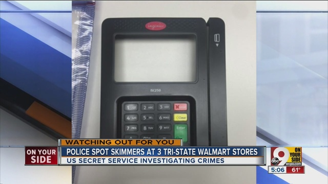 Credit Card Skimmer Found At Ft Wright Wal Mart For A