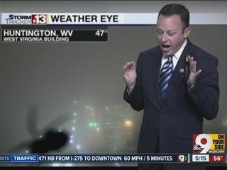 WATCH: Spider terrifies West Virginia weatherman