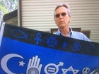 Middletown man's religious tolerance flag stolen
