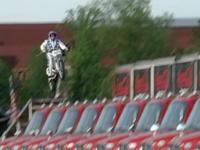 VIDEO: Knievel jumps 24 trucks at Kings Island