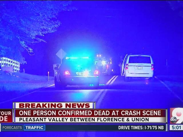 Fatal motorcycle crash in Florence, Kentucky