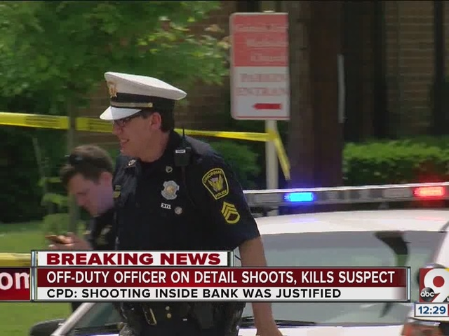 Off-duty officer on detail shoots, kills suspect