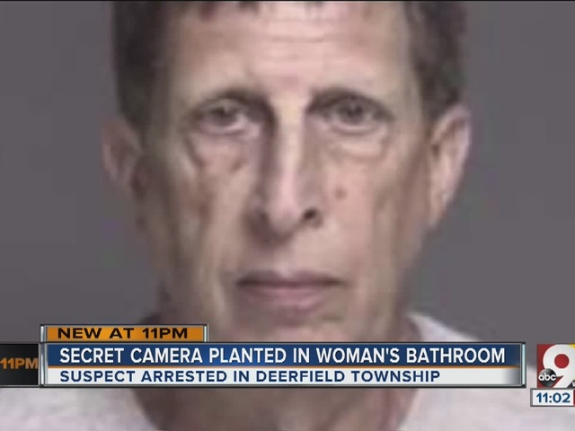 Well-liked maintenance man charged with voyeurism at Deerfield Township…
