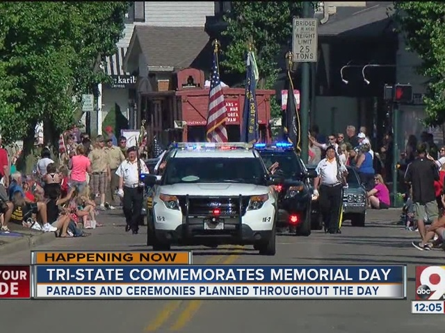 Memorial Day ceremonies throughout the Tri-State
