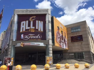 Cleveland hoping for boost from NBA Finals, RNC