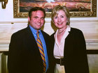How close are Mayor Cranley and Hillary Clinton?