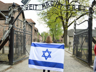 Local high school students visit Holocaust sites