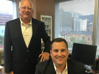 Father and son build real estate value at Kroger