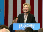 Clinton in Ohio: Trump is dangerous for economy