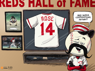 CARTOON: Who needs Cooperstown anyway?