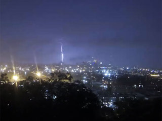 Time-lapse VIDEO: See intense storm strike Cincy