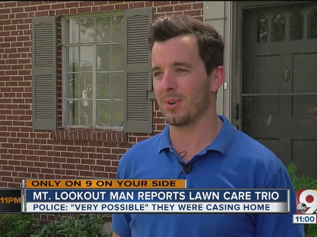 Burglars may be disguising themselves as landscapers in new scam