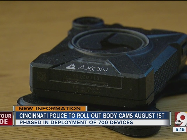 Cincinnati Police Department rolling out body cams in phases