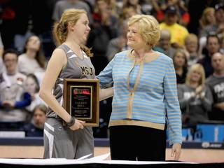 Summitt bonded with Lauren Hill before her death