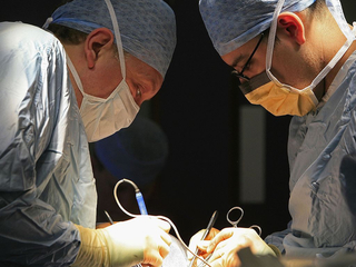 Experimental surgery gives man a second chance
