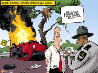 CARTOON: Who are Ohio's worst drivers?