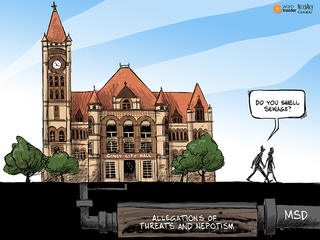 CARTOON: What's that smell at City Hall?