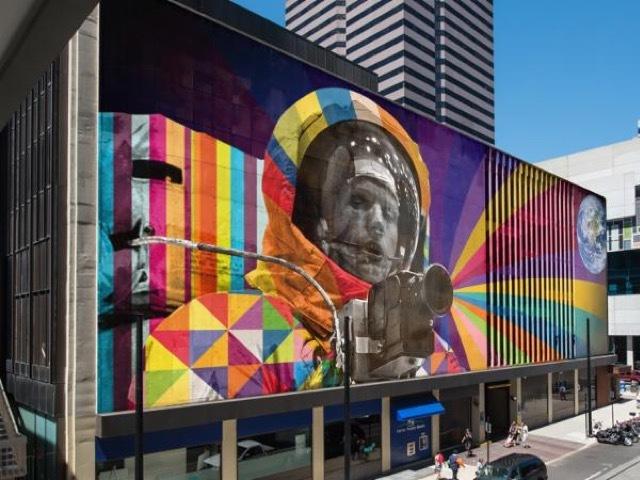 New artworks mural in downtown cincinnati will honor neil for Cincinnatus mural