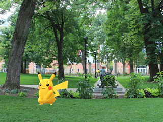 PD: Woman climbed PBS fence to 'catch Pokemon'