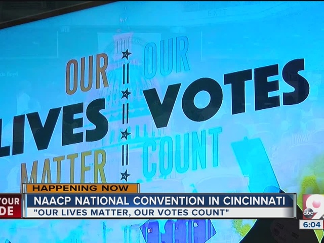 NAACP 107th convention kicks off at the Duke Energy Center