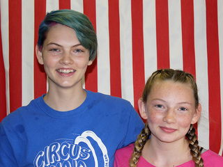 These sisters headed to Germany for circus camp