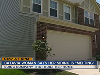 Suit: Woman wants $25K over melting house