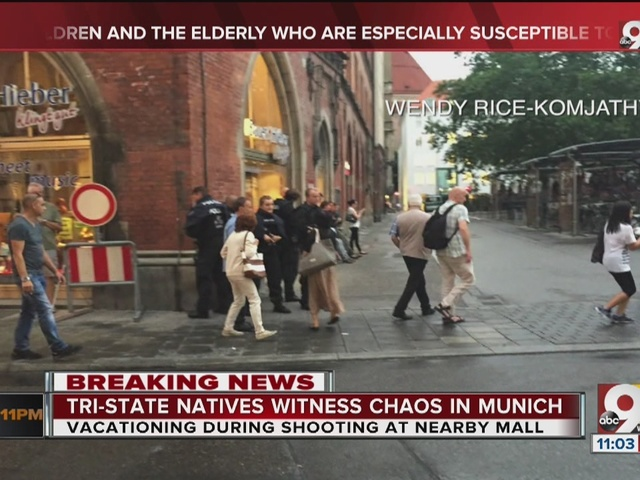 Tri-State natives witness chaos in Munich