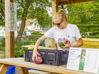 Garden market swipes more customers, literally