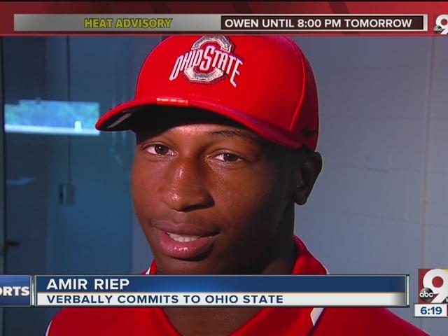 Colerain football standout Amir Riep picks Ohio State