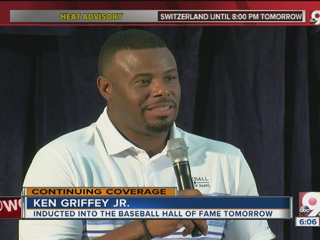 Ken Griffey Jr. beyond words anticipating Hall of Fame induction