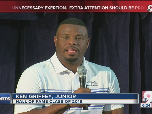 Ken Griffey Jr. looks back on Reds days before Hall of Fame induction