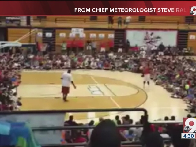 WATCH: Local boy plays 'Around the World' with Michael Jordan...and wins