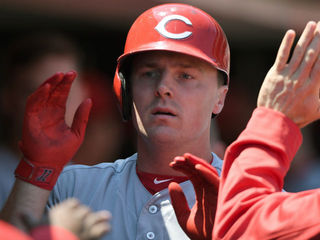 Bruce's home-run streak increases odds of trade