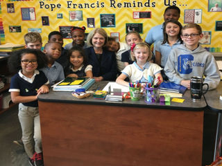 Archdiocese selects head of Catholic schools