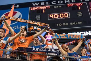 PHOTOS: FC Cincinnati draws Charleston