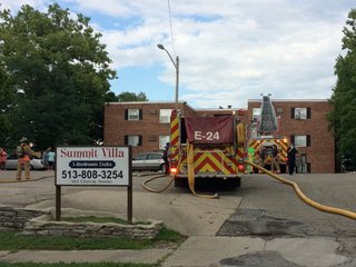 1 hospitalized after East Price Hill fire