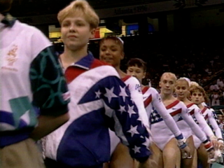 Flashback: Cincy gymnasts help U.S. win gold