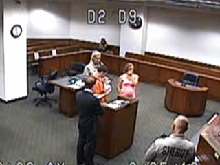 Judge lets man meet son for first time in court