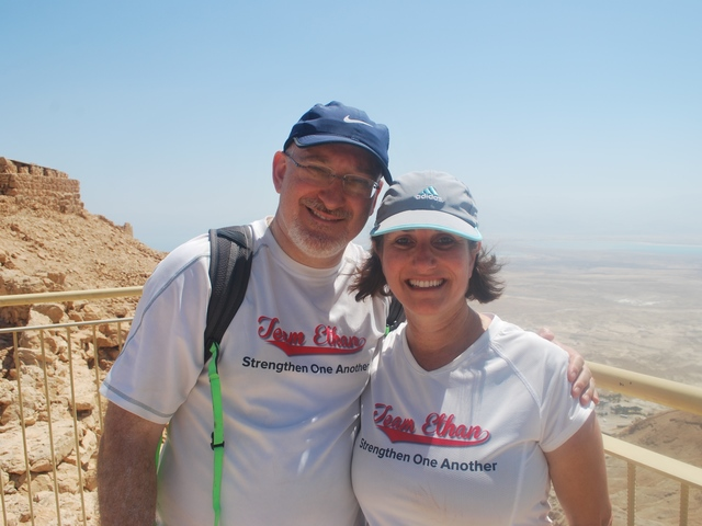 Kadish family finds new hope on trip to Israel
