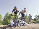 Combining bike racing with music, art, food