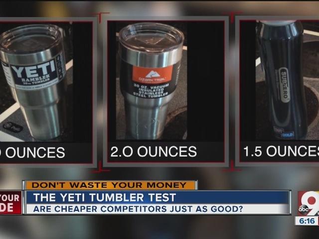 $39 Yeti tumbler vs $9 copycat: any difference?