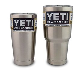 Keep cool with the Yeti or Ozark Trail?
