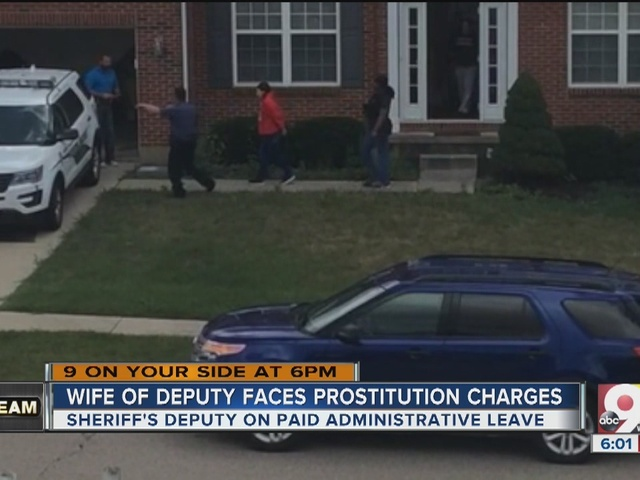 Hamilton County deputy's wife faces prostitution and heroin charges