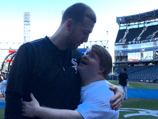 Former Red's adorable reunion with Teddy Kremer