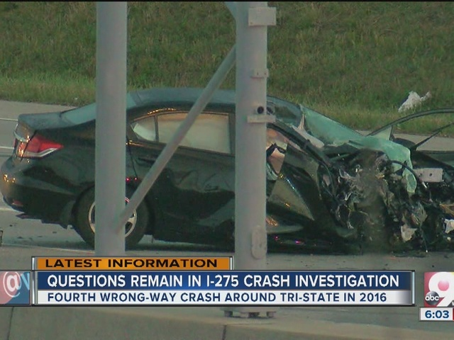 Questions remain in I-275 wrong-way crash